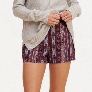 NEW Hollister Tribal High Rise Shorts Size 1/24